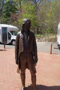 Thomas Jefferson statue, Monticello