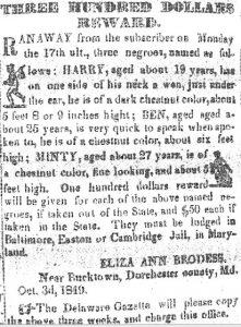 Tubman advertisement
