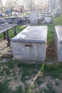 John Witherspoon's burial plot.